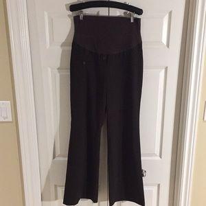 Thyme Maternity Women's Brown Dress Pants Size M